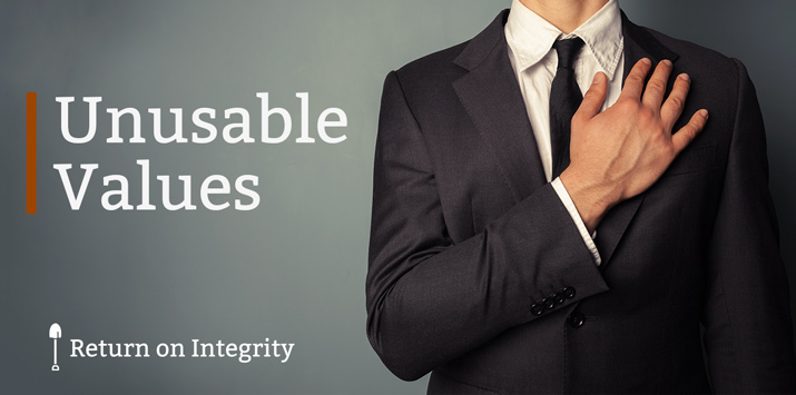 Unusable Values