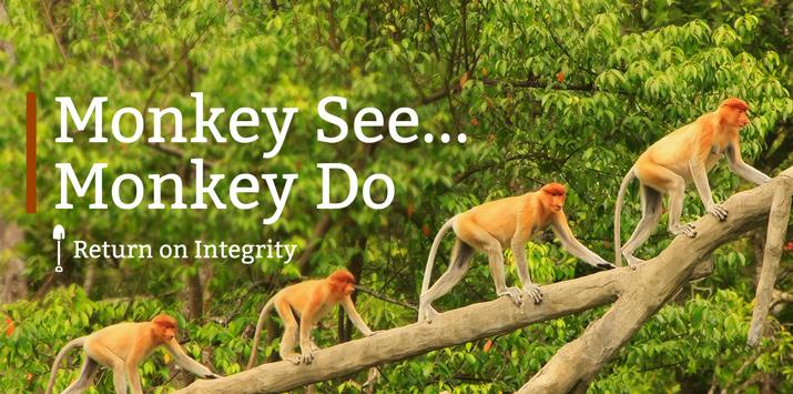 Monkey See…Monkey Do