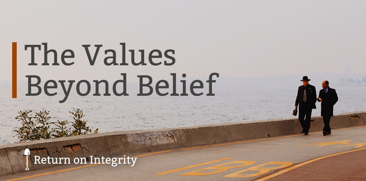 The Values Beyond Belief