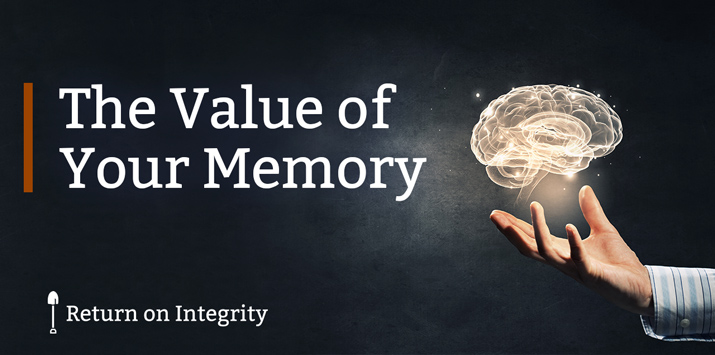The Value of Your Memory