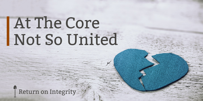 At The Core Not So United